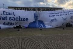 Neuer Glanz für alte Tradition: Glückauf-Kampfbahn (Foto: Uwe Bassenhoff/Sportfotografie UBfoto)