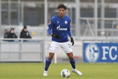 Testspiel FC Schalke 04 -  Preußen Münster 18.01.2020 Foto: S. Sanders  Jean-Clair Todibo