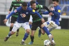Testspiel FC Schalke 04 -  Preußen Münster 18.01.2020 Foto: S. Sanders