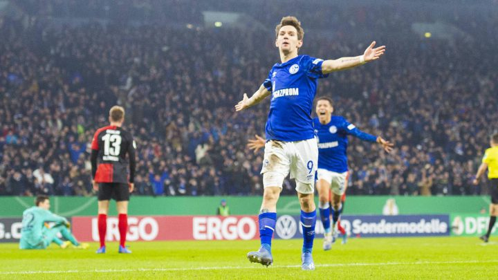 Schalke-Jubel. Foto: Imago