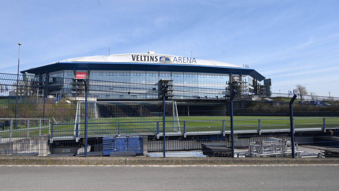 Die Veltins Arena FC Schalke 04. Foto: Imago