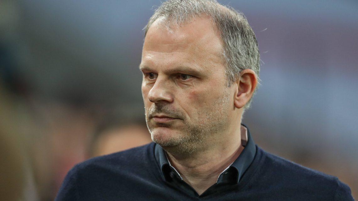 Jochen Schneider, Sportvorstand auf Schalke. Foto: Imago